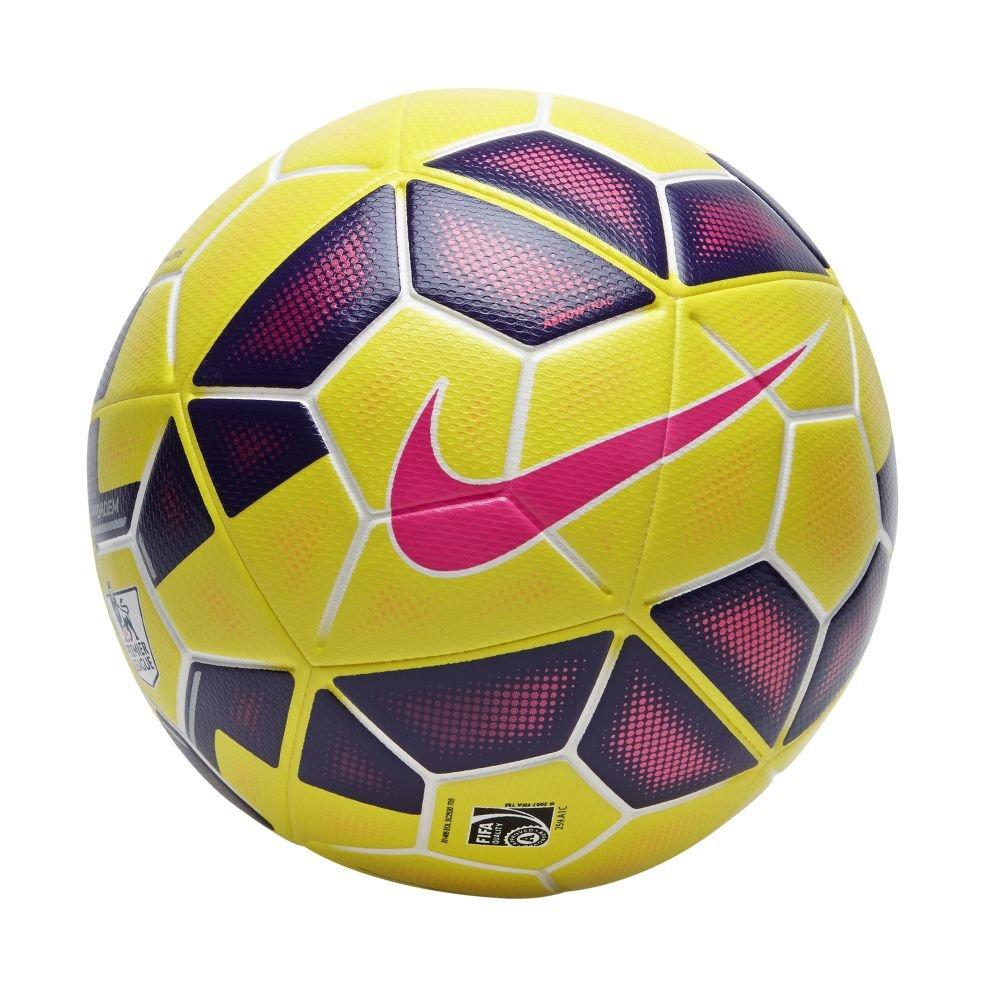 Nike Ordem Hi-Visbility Premier League Ball [Yellow] (5)
