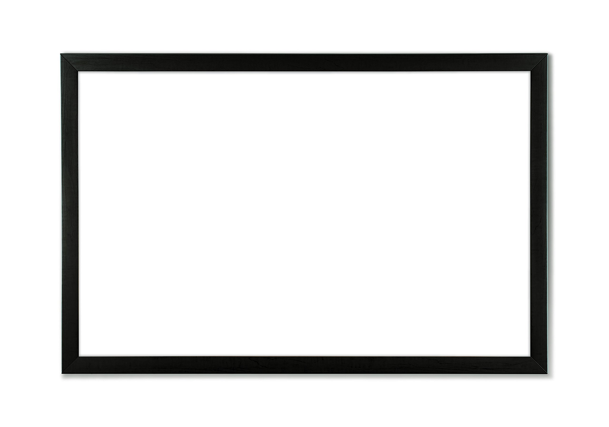 U Brands Magnetic Dry Erase Board, 35 x 23 Inches, Black Frame