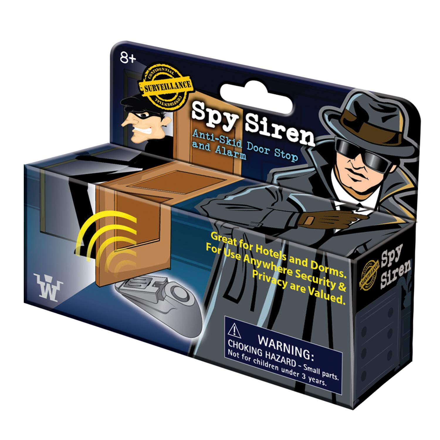Amazon.com: Westminster Spy Siren, Anti-Skid Door Stop and ...