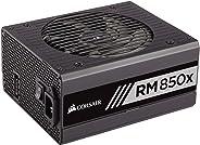 Corsair RMX Series, RM850x, 850 Watt, Fully Modular Power Supply, 80+ Gold (Renewed)