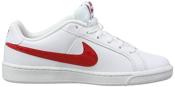 finest selection 4bf32 207e2 Nike WMNS Court Royale, Chaussures de Fitness Femme, Multicolore University  Red White 114, 35.5 EU  Amazon.fr  Chaussures et Sacs