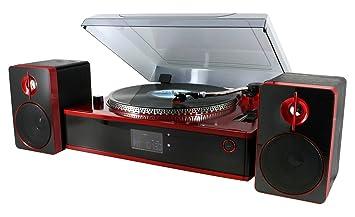 Soundmaster PL 870 Negro, Rojo: Amazon.es: Electrónica