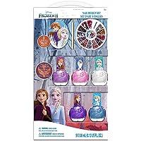فروزن - مجموعة تصميم الأظافر لعبة للبنات ، 3 سنوات فما فوق