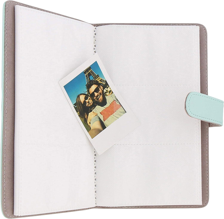 TnB LENSY Album Photo Instax Mini 64 Photos Bleu