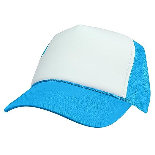 068a36b4 Amazon.com: DALIX Neon Trucker Caps Adjustable Snapback Hat (Neon ...