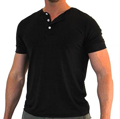 3 button henley t shirt