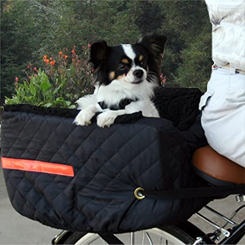 Snoozer-Pet-Rider-Rear-Bicycle-Seat,-Black