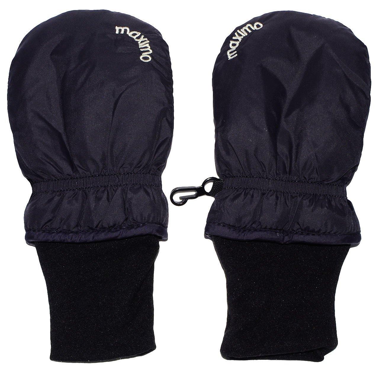 alles-meine.de GmbH Handschuhe / Fausthandschuhe -  BLAU  - Baby - Grö ß e: 0 bis 6 Monate - mit langem Baumwolle Schaft - wasserdicht + atmungsaktiv - leicht anzuziehen - Fä ust..