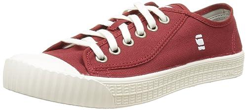 G-Star Rovulc Canvas Low, Zapatillas para Hombre, Rojo (Red 603), 45 EU: Amazon.es: Zapatos y complementos