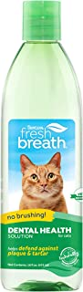 product image for Fresh Breath by TropiClean Oral Care Water Additive for Cats, 16oz - Made in USA