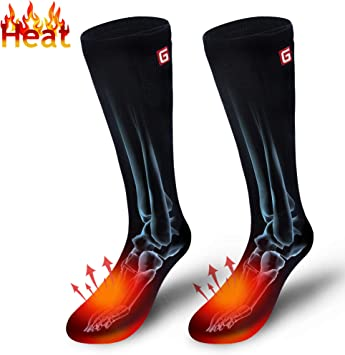 Autocastle Electric Heated Socks,Rechargeable Battery Powered Heating Socks For