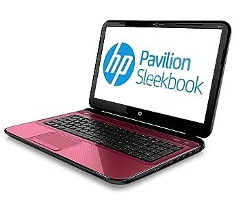HP Pavilion 15-b137ss Sleekbook - Ordenador portátil (Portátil, Negro, Rojo, Concha, i3-2375M, Intel Core i3-2xxx, BGA1023): Amazon.es: Informática