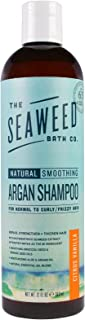 product image for Seaweed Bath Co., Natural Smoothing Argan Shampoo, Citrus Vanilla, 12 fl oz (360 ml) - 2pc