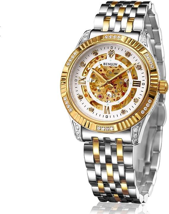 Reloj De Oro De 22 Quilates Para Hombre,Reloj De Marca Para