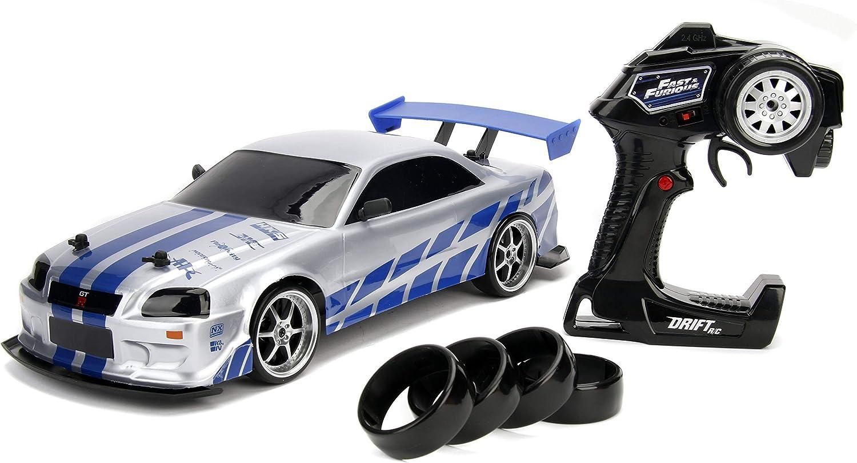 Jada Toys Fast Furious Brian S Nissan Skyline Gt R Bn34 Drift
