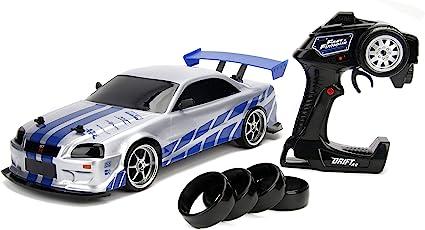R34 aus dem Film 2 Fast 2 Furious 2003 1:24 Jada Toys Nissan Skyline GT-R