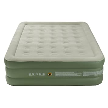 external profile aire beautyrest plush raised simmons with inflatable dp air ac bed mattress com amazon pump