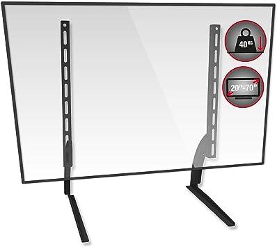 TTAP - Soporte Universal de pie de TV para Mesa y Pedestal, Altura ...