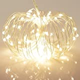 Amazon Price History for:40 LED String Lights 8 Modes Battery Powered on 5 Meter Copper Wire Firefly Light with Timer for Bedroom Party (120 Hours of Lighting, IP65 Waterproof, Warm White)