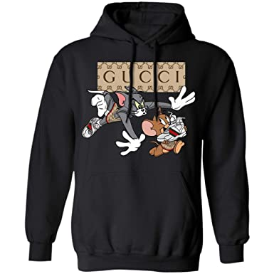 235bf65e9 Gucci Vintage Shirt Tom and Jerry (Hoodie;Black;S). Roll over image to ...