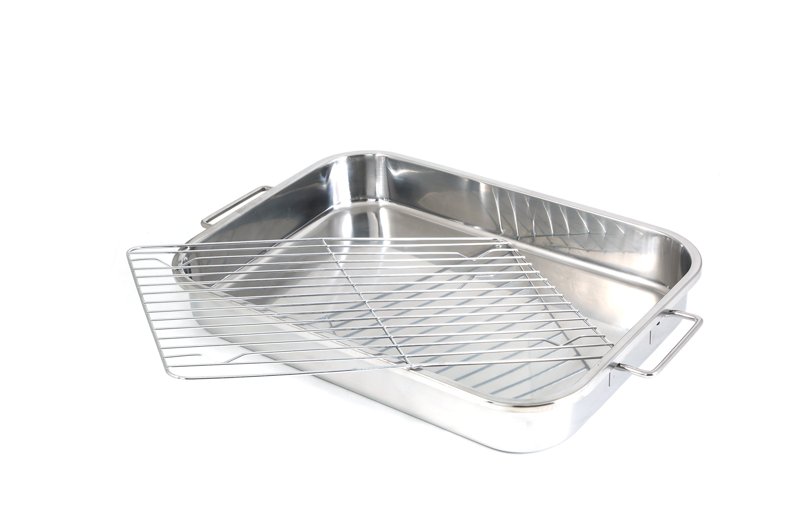 Cook Pro 561 4-Piece All-in-1 Lasagna and Roasting Pan by Cook Pro (Image #3)