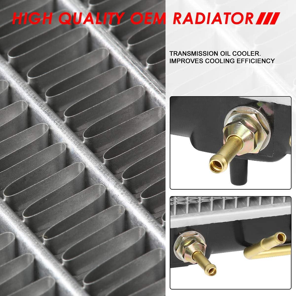 FOR 04-12 MITSUBISHI GALANT L4 V6 STYLE FULL ALUMINUM CORE COOLING RADIATOR 2723