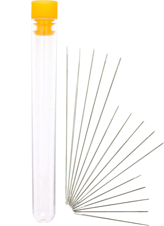 Set Of 4 Big Eye Needles Beading Easiest Needle To Thread
