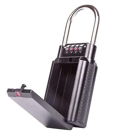 AKUNSZ Key Safe Box Wall Mounted Outdoor Key Lock Box