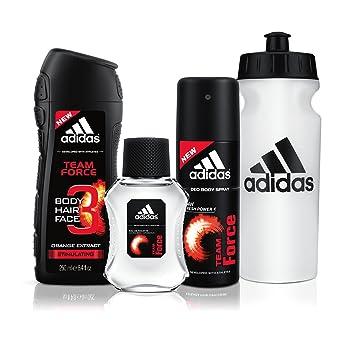 af17b2a914b4 Amazon.com : Adidas Fragrance Team Force 4 PC - 8.4 oz Body Wash ...
