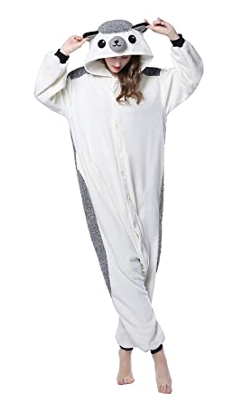 79c5f04041bf Amazon.com  NEWCOSPLAY Hedgehog Costume Homewear Lounge Wear Unisex ...