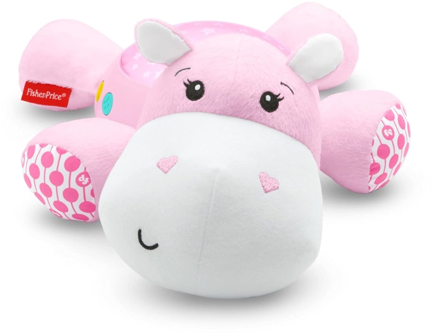Fisher-Price Hippo Projection Soother, Pink FGG89