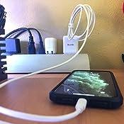 Amazon.com: Quntis - Cargador rápido para iPhone (USB C a ...