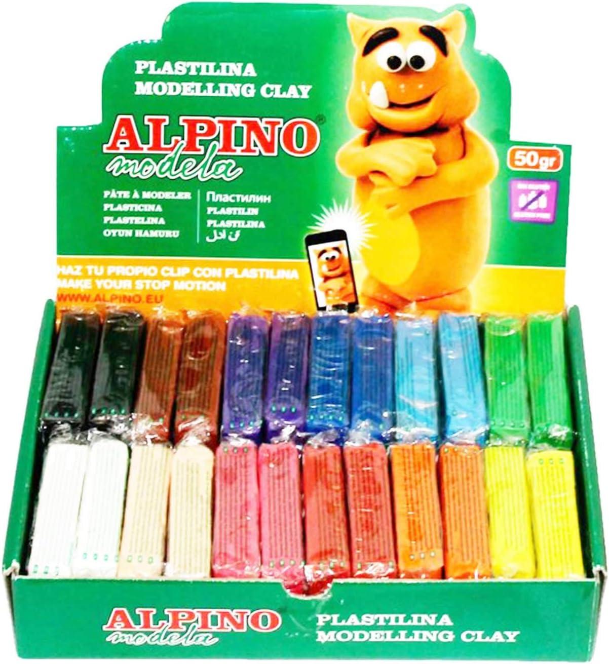 Pack de 24 plastilinas de 50 gramos: Amazon.es: Electrónica
