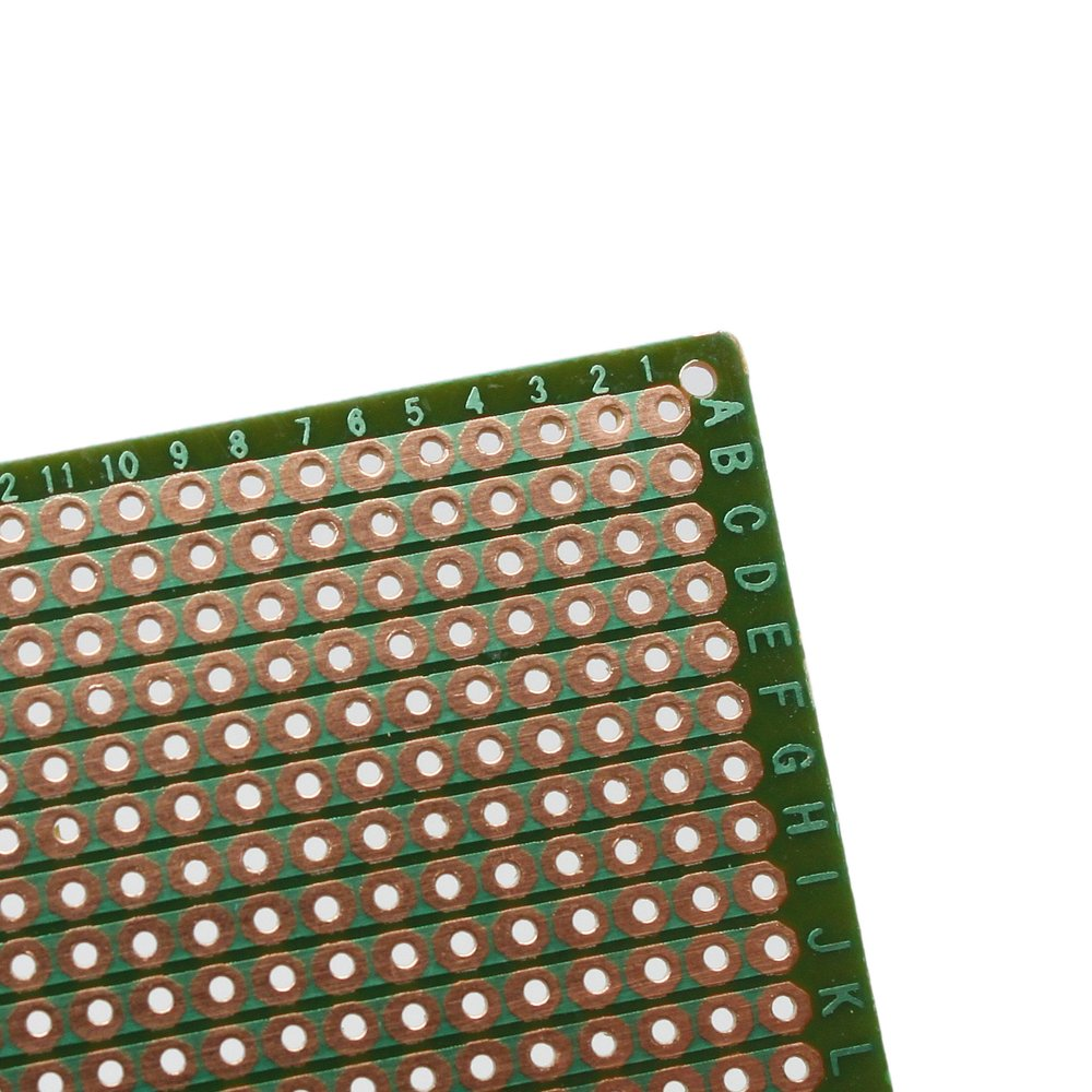 5pcs Diy Soldering Prototype Copper Pcb Printed Circuit Board 70mm X 10 Pcs 50mmx70mm Single Side Cover Stripboard 90mm