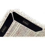 EVELTEK 水洗い 防滑 バスマット 中敷カーペット 吸水 速乾 低反発 足拭きマット&ラグ コーラルベルベット生地 屋内 玄関 トイレ キッチンマット 40x60cm (8枚入)