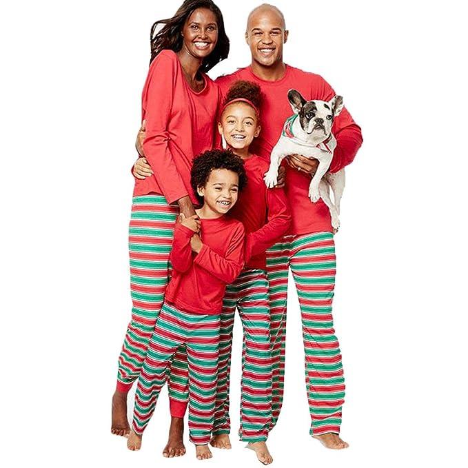 44155ea442 Fashion Family Christmas Pajamas Sets Christmas Sleepwear Nightwear Sets  (Kid