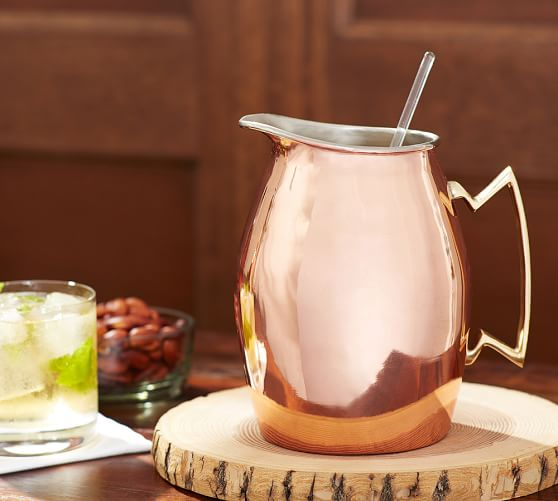 Copper Pitcher | Pottery Barn