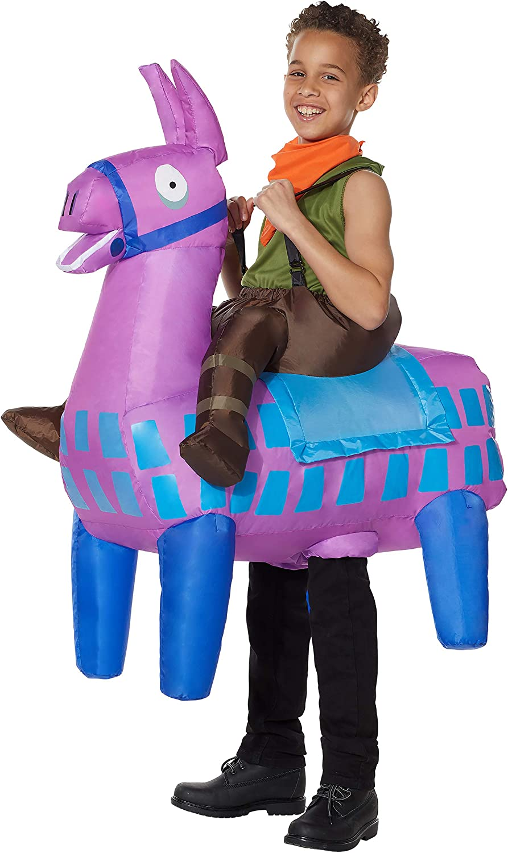 Spirit Halloween Kids Giddy Up Fortnite Disfraz Inflable   Oficial ...