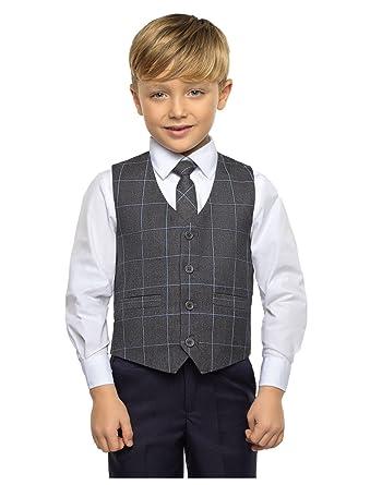 Paisley of London - Traje - para niño Gris Gris 11-12 Años ...