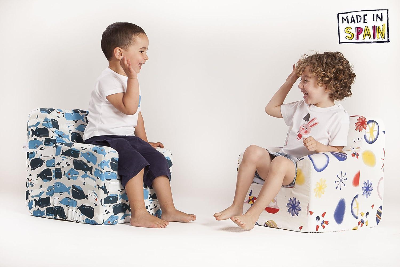 29f7ea2b6 Sillon bebe sillita para recién nacidos desenfundable lavable resistente  cómodo decoracion muebles niños Fabricado en España ...