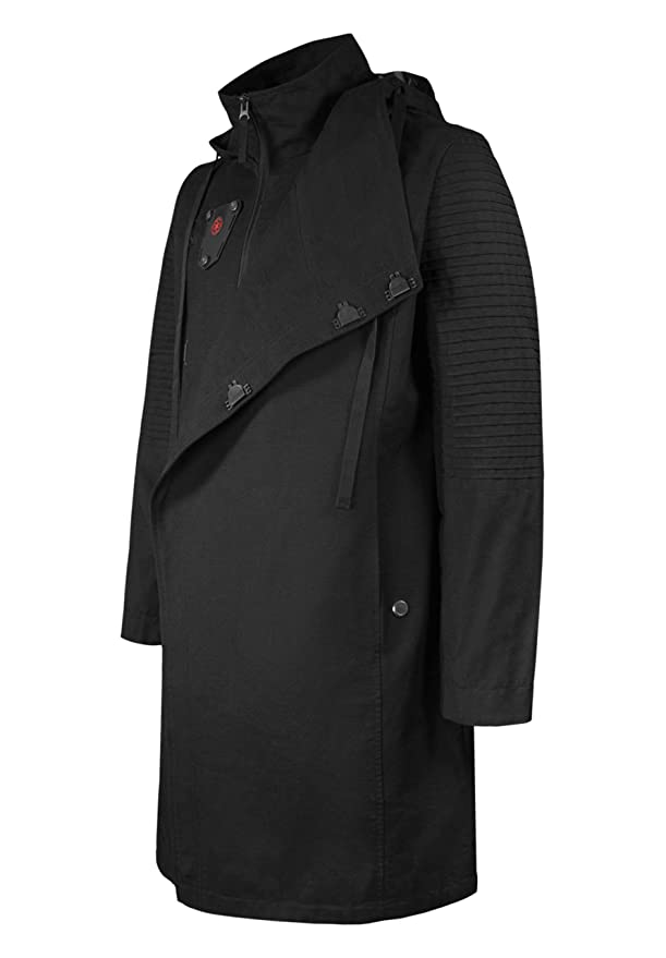 Musterbrand Star Wars Chaqueta Hombre Sith Lord Chaqueta Negro