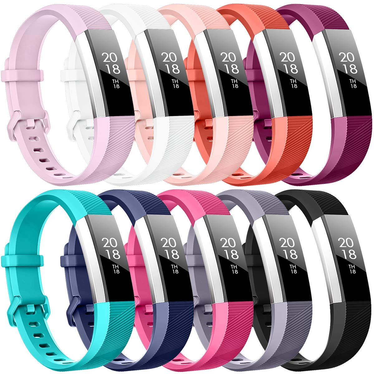 for Fitbit Alta HR and Alta Bands, TreasureMax Fitbit Alta HR Band Replacement Wristband Strap for Fitbit Alta HR/Fitbit Alta product image