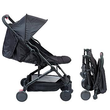 Cochecito compacto para bebé, modelo Yuko negro Negro