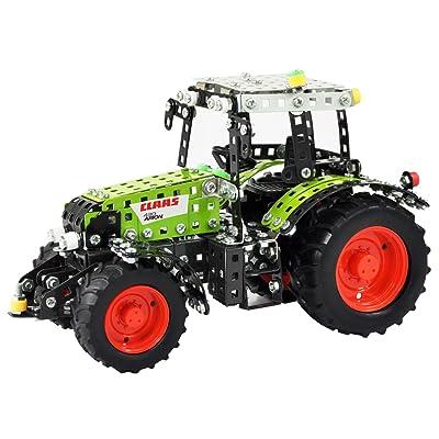 Tronico 10062 - Tracteur Claas Arion 430 - Echelle 1/16 - 648 Pièces - Vert