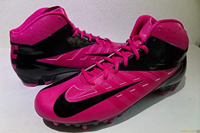 0fb64e29299f Nike Vapor Pro Mid 3/4 TD Breast Cancer Men's Football Cleats 15 US Pink