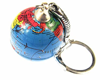 Earth globe ball pendant keychain mini bling world travel world earth globe ball pendant keychain mini bling world travel world travel gumiabroncs Image collections