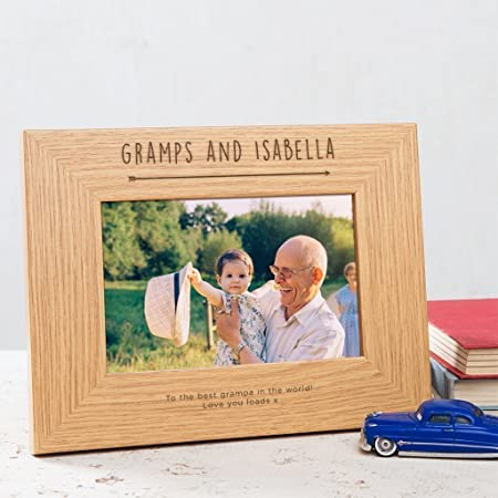 Personalized Grandad Photo Frame