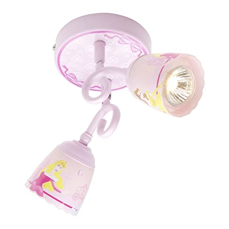 Disney PRN0043 - Lámpara de techo con dos focos, diseño de ...