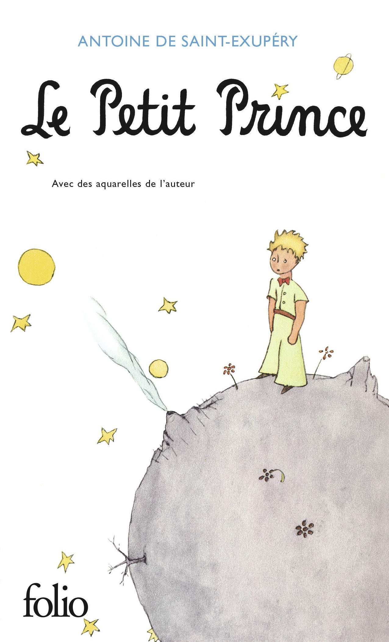 Le Petit Prince (Folio): Amazon.es: Saint-Exupéry,Antoine de ...