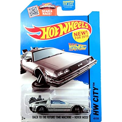 HOT WHEELS 2015 RELEASE BACK TO THE FUTURE TIME MACHINE HOVER MODE DIE-CAST: Toys & Games
